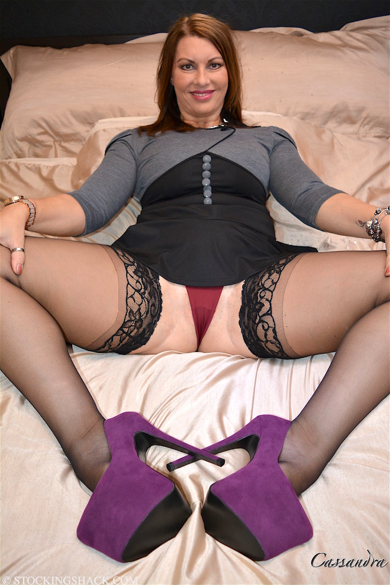 Sexy Stockings Porn Pictures, Best Nylon Sex Pics at